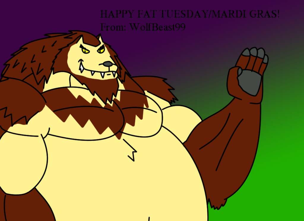 Happy Fat Tuesday/Mardi Gras! by WolfBeast99
