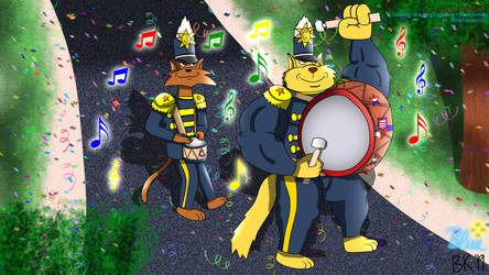 Collab - The SWAT Kats March Continues by WolfBeast99