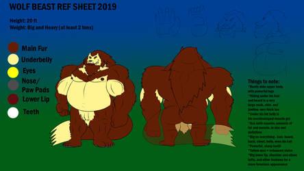 Wolf Beast Ref Sheet 2019 by WolfBeast99