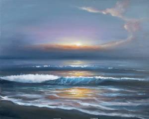 Evening sea