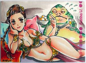 Anime Slave Leia