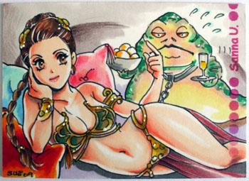 Anime Slave Leia by Sanna-U