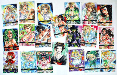 Legend and Lore sketch cards