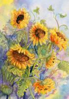 Summer Flowers 4 by Til-Til