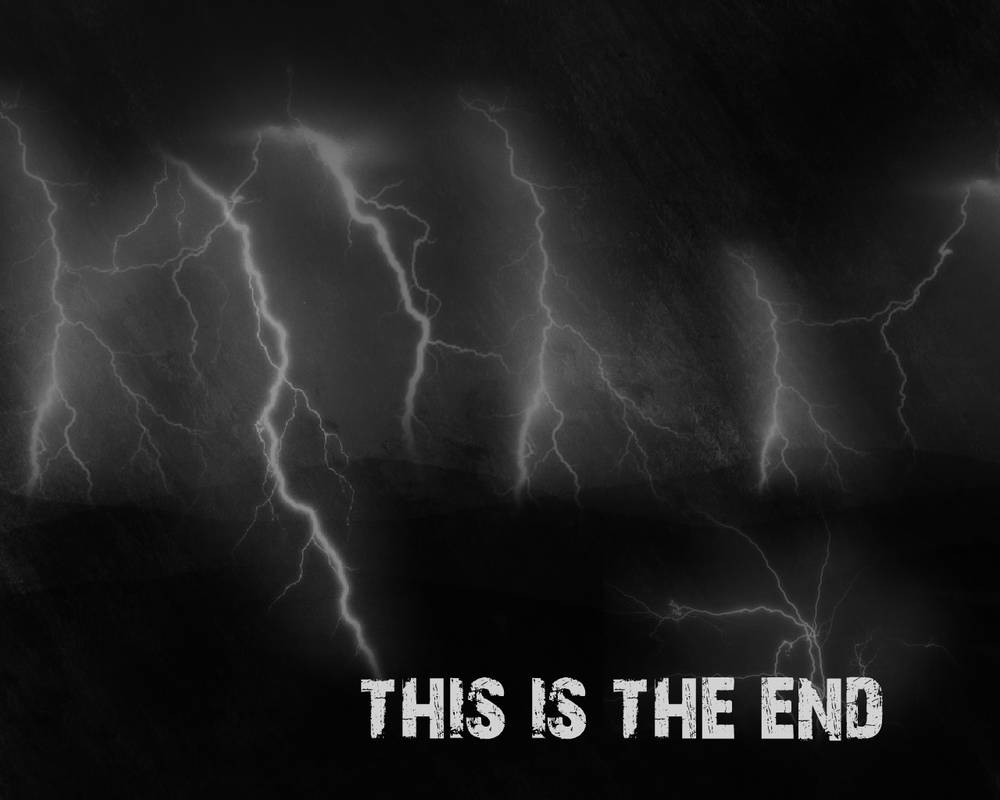 This Is The End Depressive Wallpaper By Masterpetrik On Deviantart