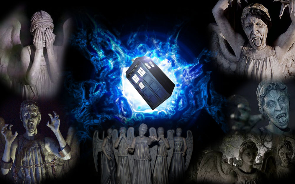 gallery for doctor who weeping angels wallpaper