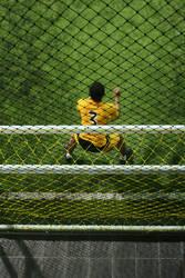goal keeper by belajarmotret