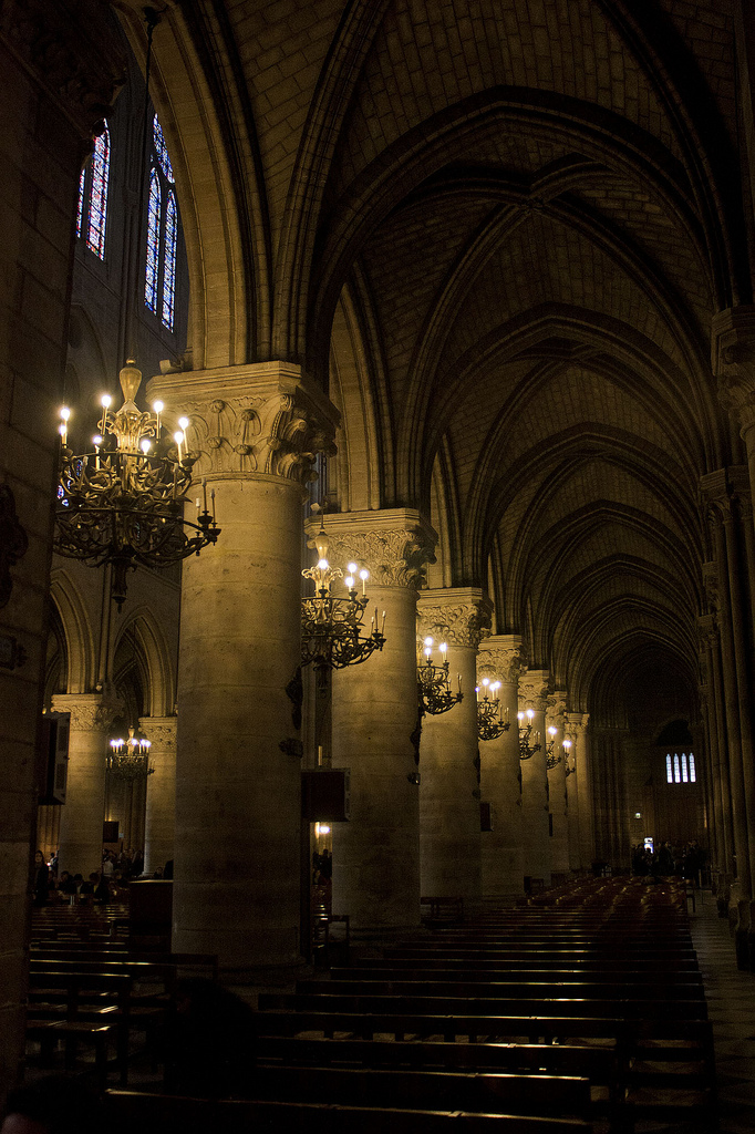 inside Notre Dame by lumarins