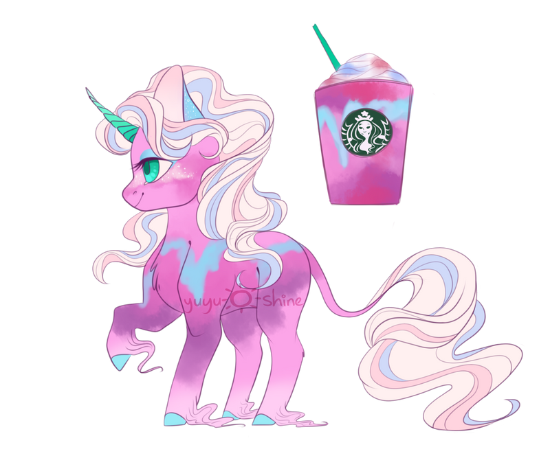Starbucks Unicorn Frappe Adopt Closed By Yuyusunshine On