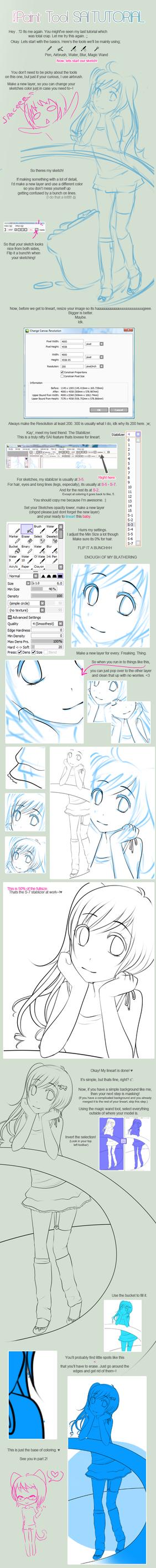 SAI: Anime Tutorial Part 1 by Aninion
