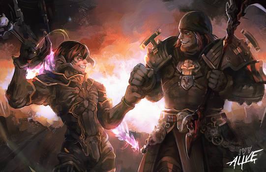 Final Fantasy Fist Bump