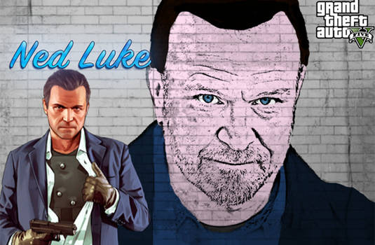 NED LUKE fan art (by RetrogamerITA)