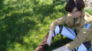Eren Jeager Cosplay: Angry Eren by TheUnknownCosplay