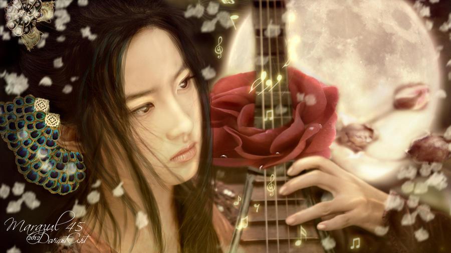 Musica para una rosa by Marazul45