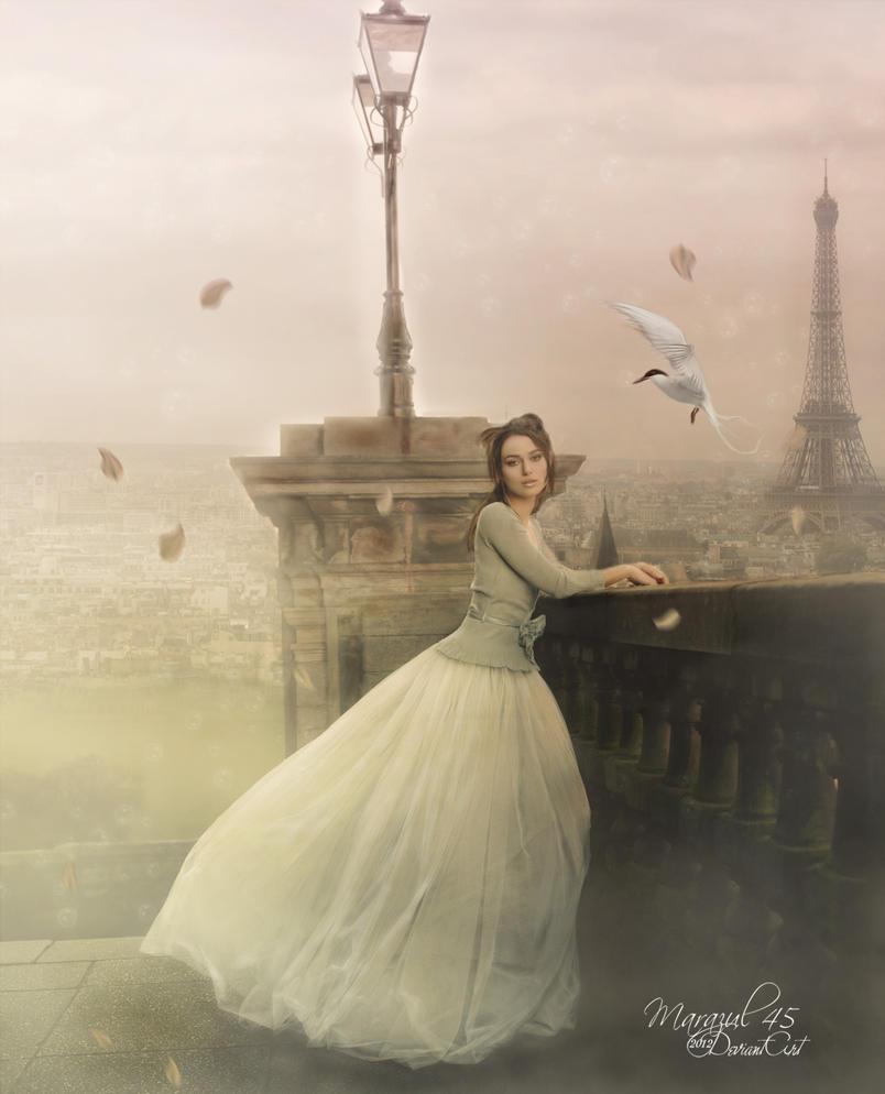 Atardecer en Paris by Marazul45