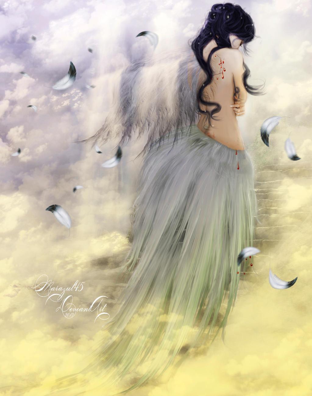 El nacer de las alas de un Angel by Marazul45