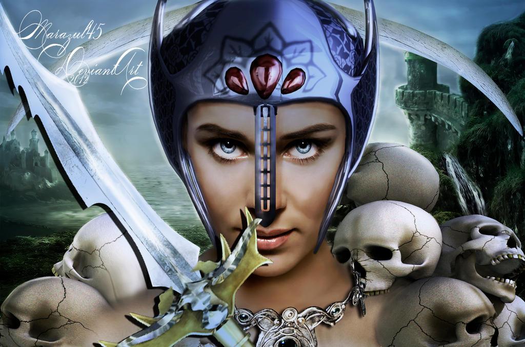 La guerrera by Marazul45