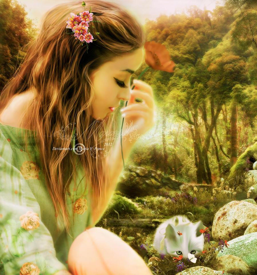 Mi dulce minino lindo by Marazul45