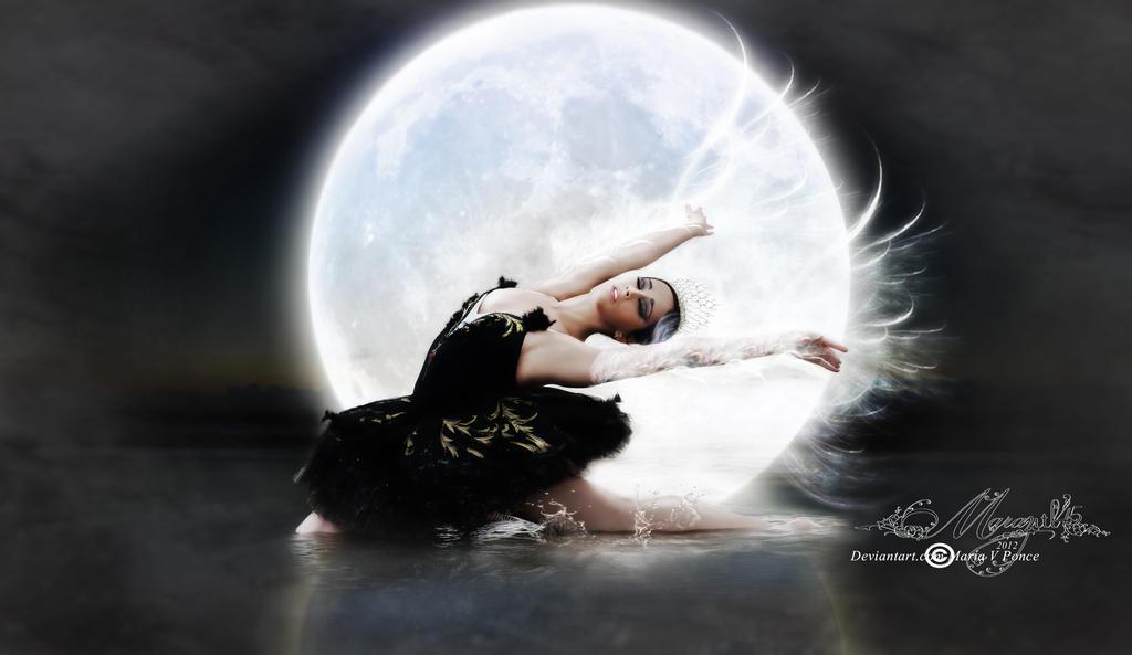 El cisne y la luna version by Marazul45