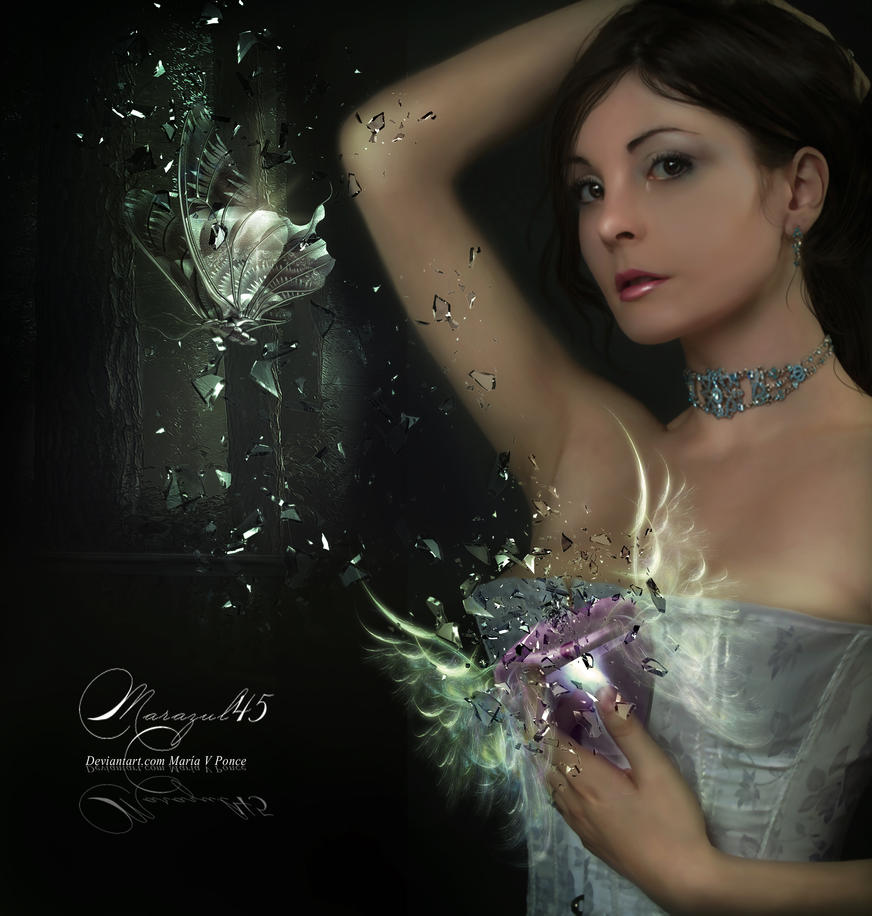 Mariposa de cristal by Marazul45