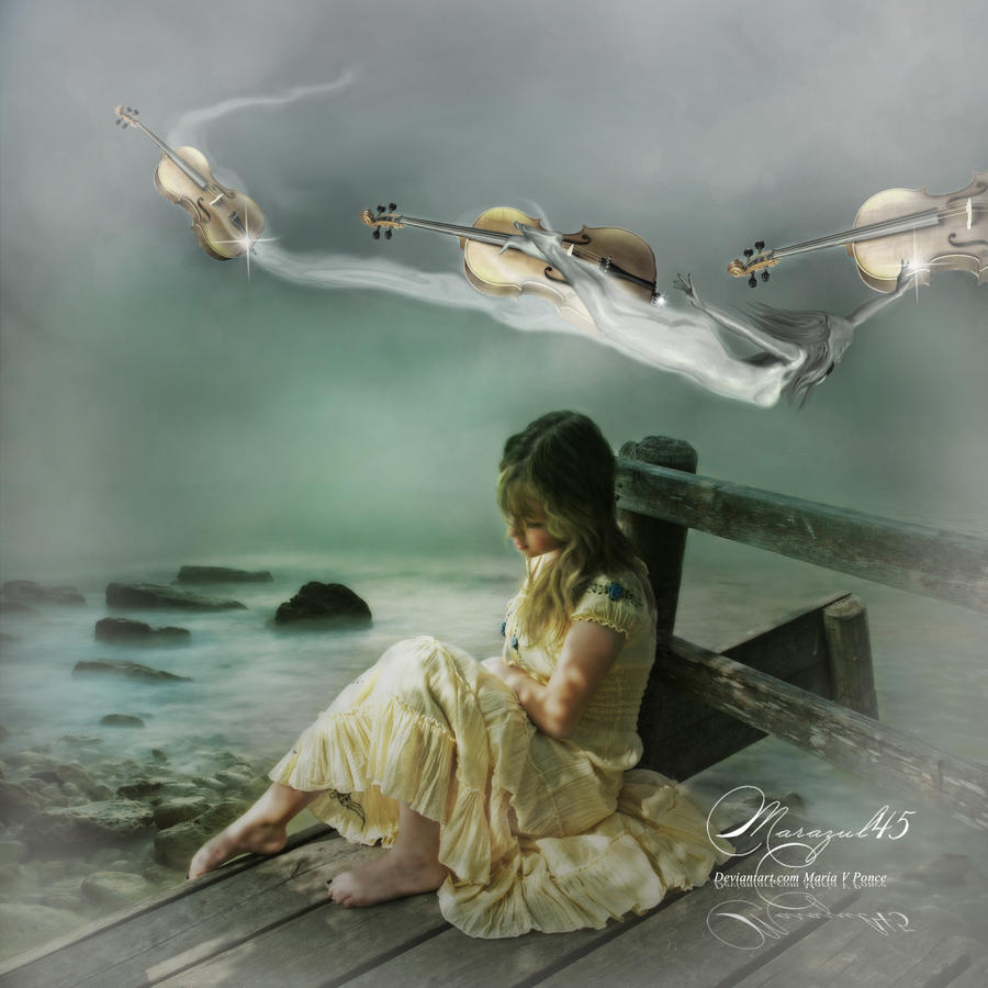 Violines en el aire by Marazul45