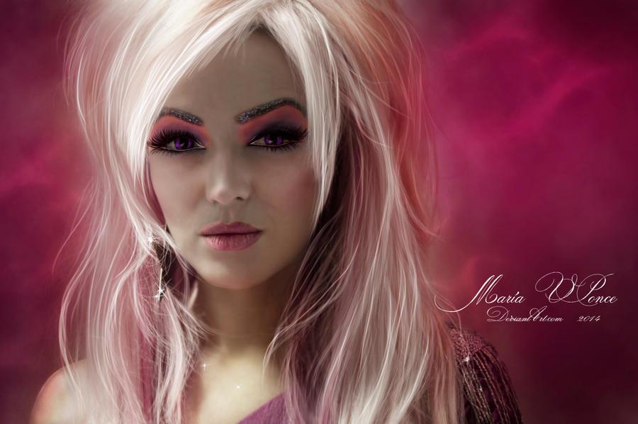 Glamorous pink by Marazul45