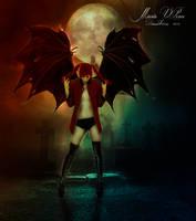 Si el diablo se viste de rojo by Marazul45