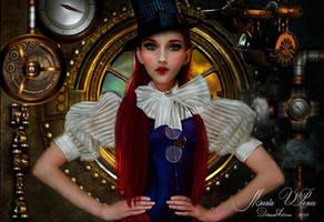 Steampunk Mary by Marazul45