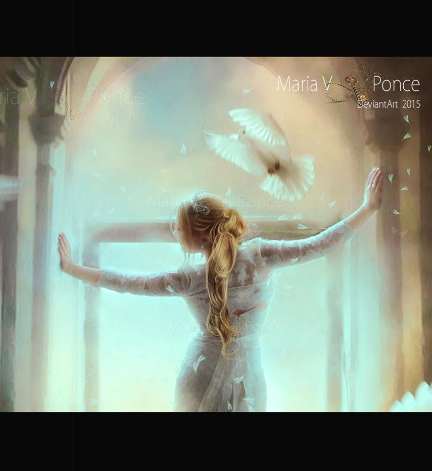 Cuando tu luz me abraza-primer plano by Marazul45