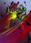 Atomic Robo colors