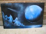 Large Speed Spray Painting