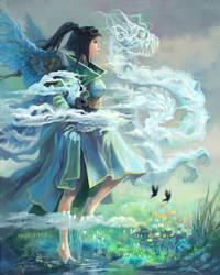 Somewhere Angelic by weerawan