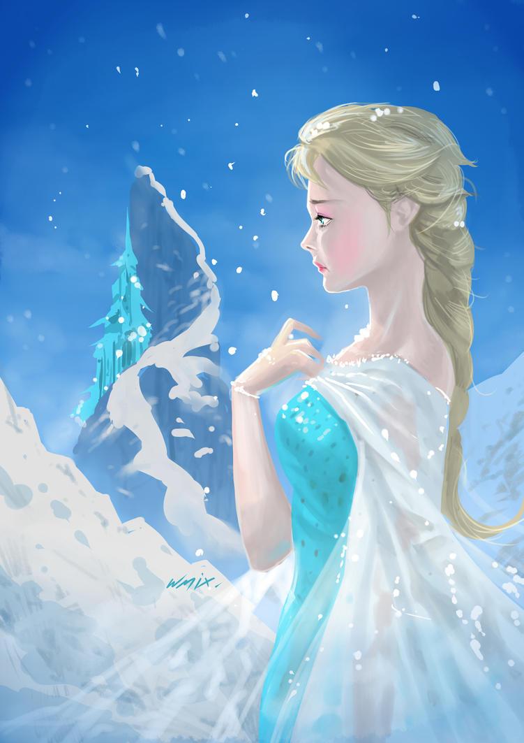 Elza Frozen Fan Art 431742151