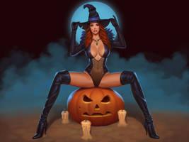 Witch by janunolart