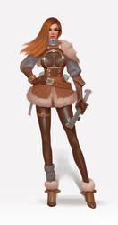 Female character by janunolart