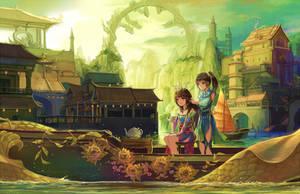 Dragon City by natsumoka