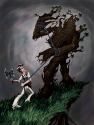 A Tree's Torment by leoangelo03