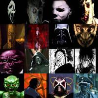 Masked villains