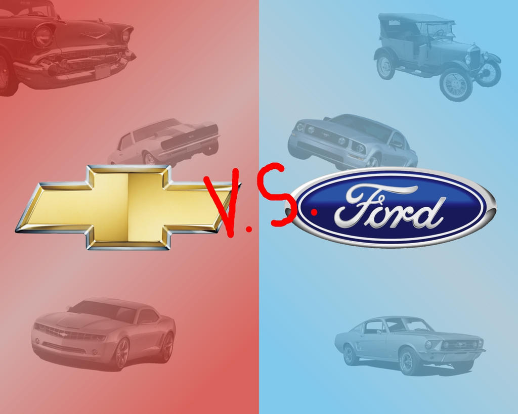 Chevrolet Vs Ford By Mincus On DeviantArt - Chevrolet ford