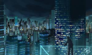 Digital Art - Nightscape