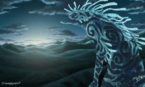 Digital Landscape - Forest Spirit