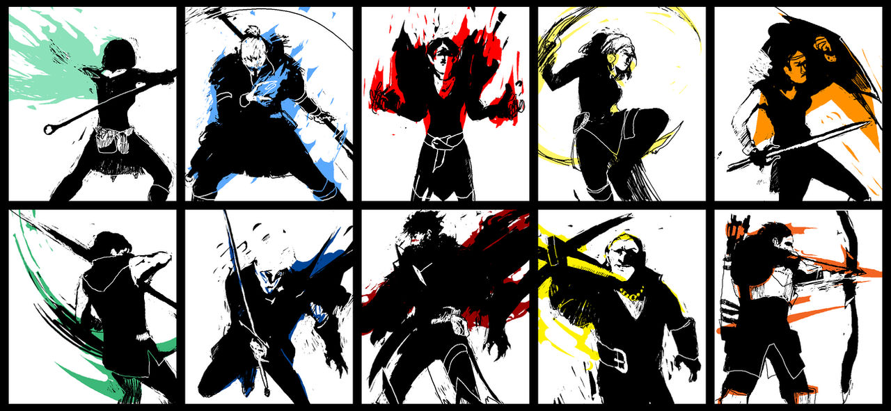 Dragon Age 2 characters