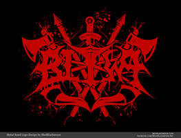 Bitwa | Black Metal Logo by modblackmoon