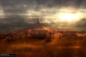 Desert City | Album Artwork by modblackmoon