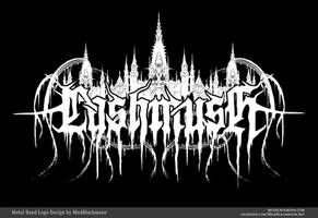 Lashmush | Black Metal Band Logo by modblackmoon