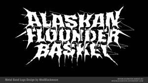 Alaskan Flounder Basket Logo by modblackmoon