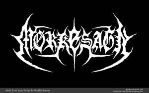 Morkesagn | Black Metal Logo Design by modblackmoon