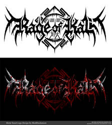 Rage of Kali Death Metal Band Logo Design
