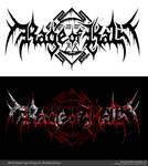 Rage of Kali Death Metal Band Logo Design