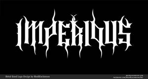 IMPERIOUS Epic Metal Band Logo Design by modblackmoon